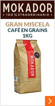 Café en grains 100% Straordinario Gran Miscela - 1kg - Mokador Castellari