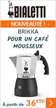 Cafetière italienne Bialetti Brikka - 2 tasses (nouveau modèle)