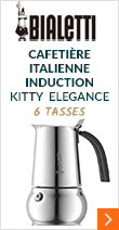 Cafetière italienne induction Bialetti Kitty Elegance - 6 tasses