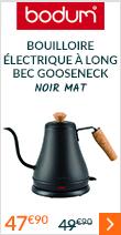 Bouilloire électrique à long bec Gooseneck Inox mat - Bodum