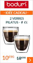 2 verres Pilatus 8 cl - Bodum