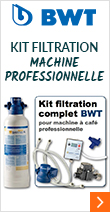 Kit de filtration complet pour machine expresso Water+More
