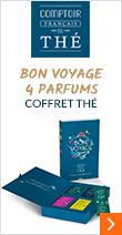 Coffret thé - Bon Voyage - 4 parfums - Comptoir Français du Thé