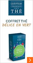 Coffret thé Délice en Vert - Comptoir Français du Thé