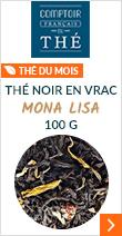 Thé noir en vrac Mona Lisa 100g - Comptoir Français du thé