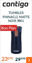 Tumbler Pinnacle Matte Noir 30cl - CONTIGO