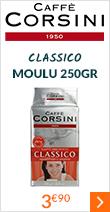 Café moulu Corsini Classico 250g