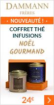 Coffret thé de Noël Gourmand - infusions - Dammann Frères