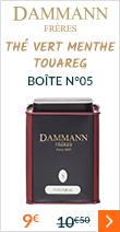 Boite Dammann N°05 Thé Vert Menthe Touareg
