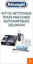 Kit de nettoyage pour Machines Automatiques DeLonghi