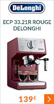 Machine Expresso ECP 33.21R Rouge - Delonghi