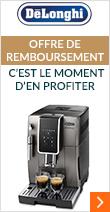Offre de remboursement Delonghi, c'est le moment de découvrir l'univers du café en