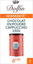 Chocolat en poudre Cappuccino 250g - Dolfin