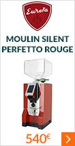 Moulin Eureka Mignon Silent Perfetto Rouge Chrome