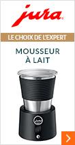 Mousseur à lait Inox + Cadeau - Jura