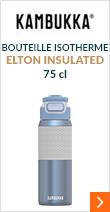 Bouteille isotherme Elton Insulated - Bleu ciel - 75 cl - KAMBUKKA