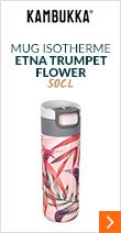 Mug isotherme Etna Trumpet flower 50 cl - KAMBUKKA
