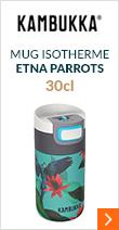 Mug isotherme Etna Perroquet 30 cl - KAMBUKKA