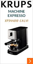 Krups XP 3440 10 Calvi + offre cadeaux