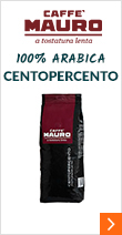 Café en grains - 100% Arabica Centopercento - 1kg - Caffe Mauro