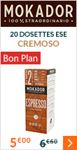 20 dosettes ESE Cremoso - Mokador Castellari