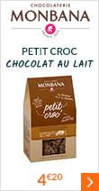 Petit Croc' Chocolat au lait - Monbana