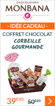 Coffret Chocolat (corbeille gourmande) - Monbana