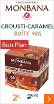 Crousti-Caramel Boîte snacking 90g - Monbana