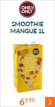 Smoothie classique 'Mangue' 1L - One and Only