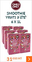 Smoothie classique 'Fruits d'été' 6 x 1L - One and Only