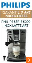 Philips Série 5000 Inox Latte Art Garantie 2 ans + 1 AN OFFERT !