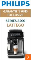Philips Series 3200 LatteGo EP3246/70 Pack Sérénité Garantie 3 ans