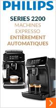 Philips Series 2200 Exclusive EP2224/40 Pack Sérénité Garantie 3 ans