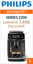 Philips Series 2200 Exclusive EP2224/40 Pack Sérénité Garantie 3 ans