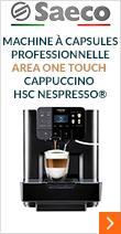 Machine à capsules professionnelle Area OTC HSC Nespresso - Saeco
