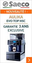 Saeco Aulika Evo Top HSC Noire Pack Pro Garantie 3 ans
