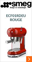Smeg ECF01RDEU Rouge