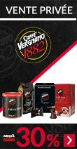 Vente privée spéciale Vergnano : jusqu'à -30%